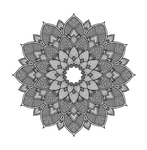 mandala, geometric, whirl