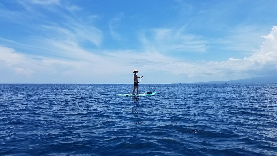ac79c2a98e92 Ocean Paddle Board Gilli Island - Free photo on Pixabay