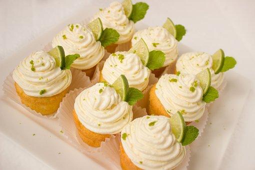 Caipirinha, Muffins, Cake, Cream, Lime