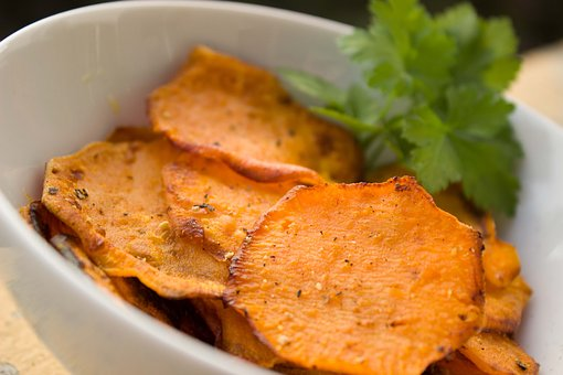 Yam Chips Potato Sweet Potato Chips Health