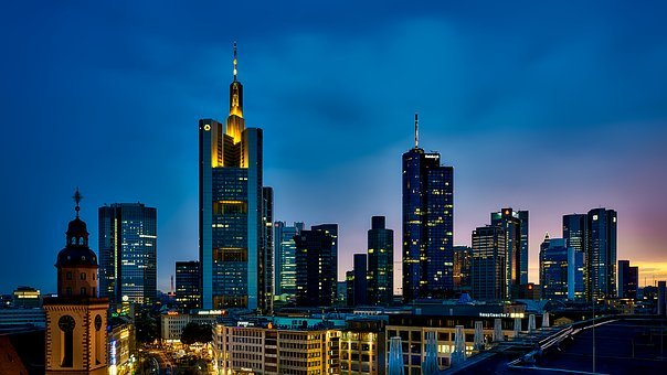 Frankfurt, Germany, Panorama, City