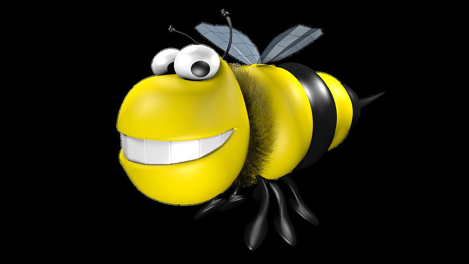 Lebah Kartun 3d Gambar Gratis Di Pixabay