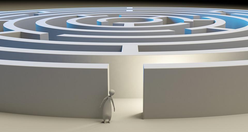 Labirinto, Soluzione, Perso, Problema, Sfida, Gioco