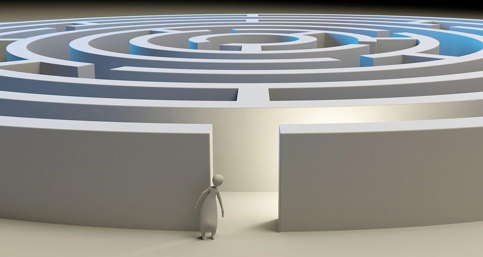 Maze Labyrinth Solution · Free image on Pixabay
