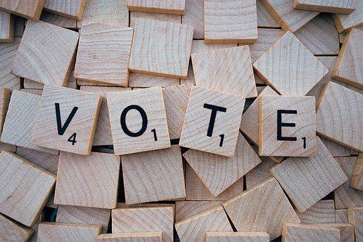 Vote Word Letters Scrabble Vote Vote Vote
