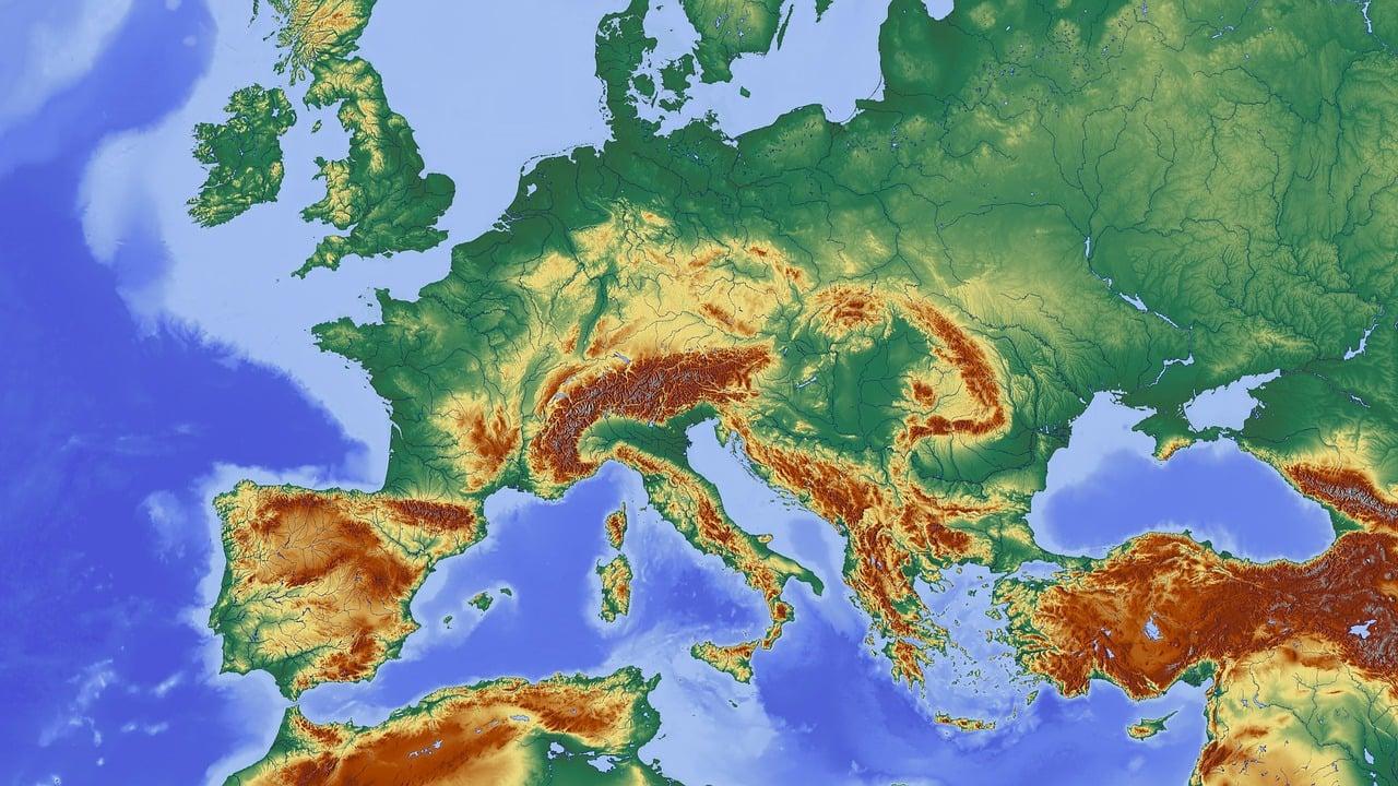 Karte Mitteleuropa Zentraleuropa Kostenloses Bild Auf Pixabay