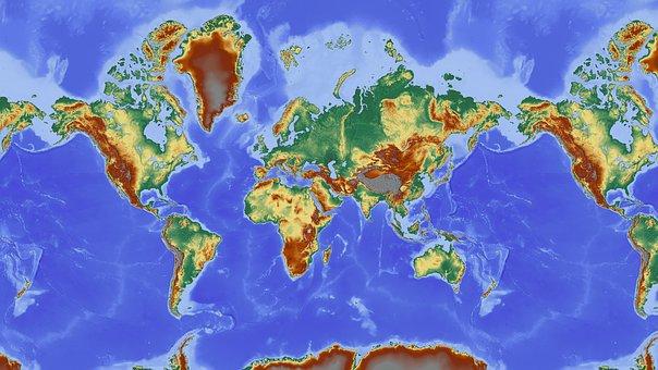 Erde Karte Rund.300 Kostenlose Weltkarte Und Erde Bilder Pixabay