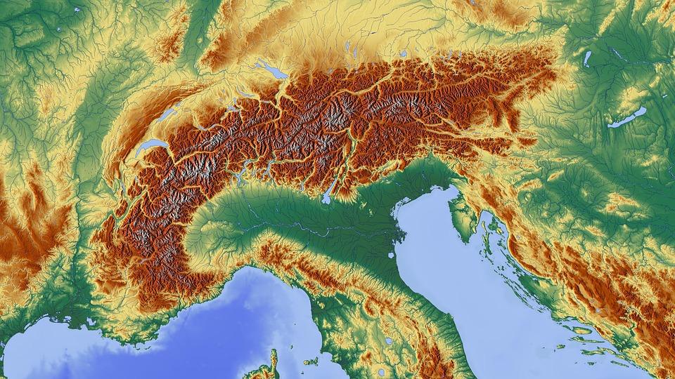 Alpesi Terkep Terseg Ingyenes Kep A Pixabay En