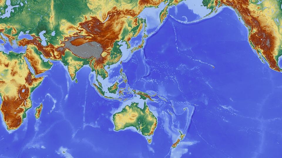 indiai óceán térkép Ázsia India Nepál   Ingyenes kép a Pixabay en