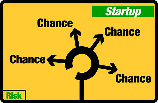 Startup, Chance, Opportunity, Risk
