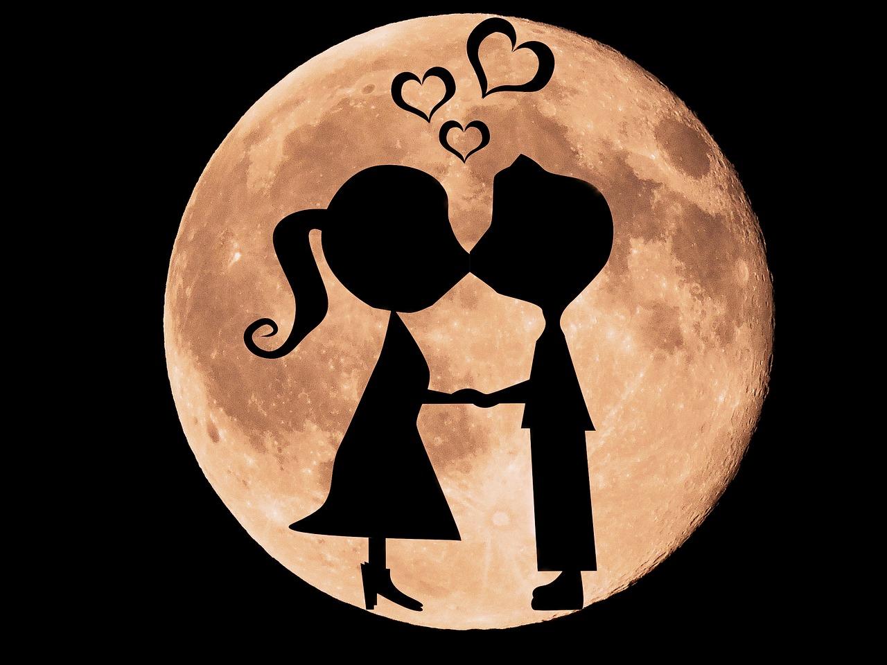Красивые картинки про любовь с надписями спокойной ночи