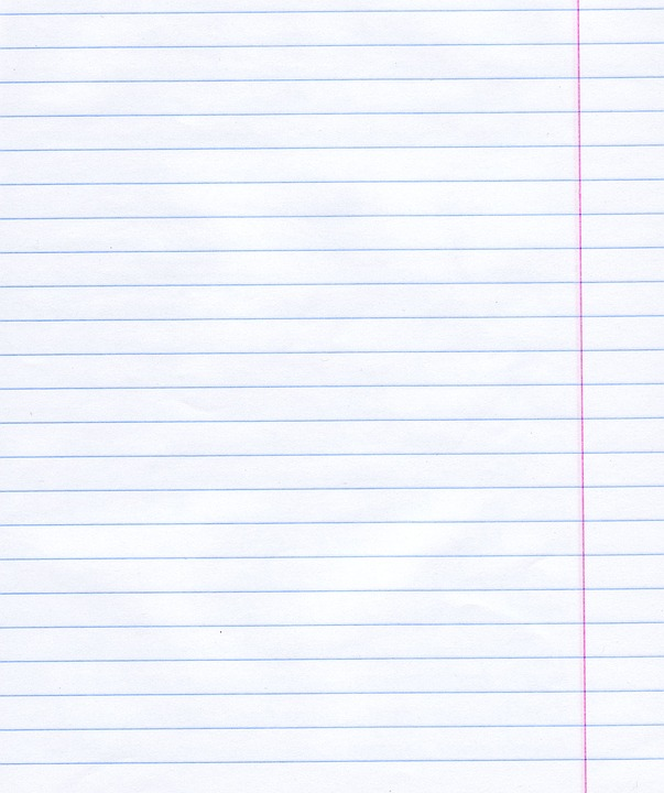 Lined Paper Free pictures on Pixabay – Notebook Paper Background for Word