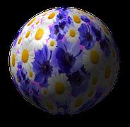 Λουλούδια, Μπάλα, Πλανήτη, Φύση