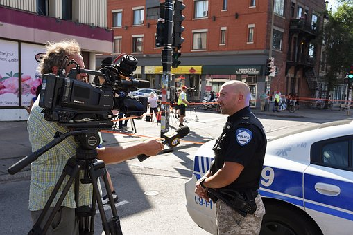 Police Interview Montreal Quebec Canada Sp