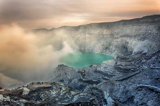 Volcano, Geography, Views, Indonesian
