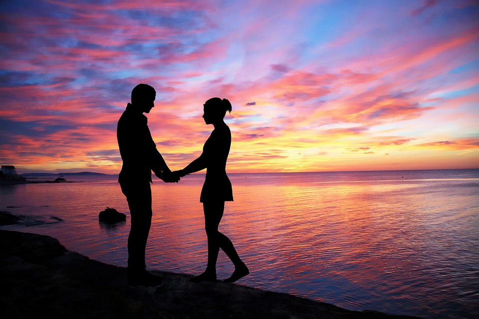 Free photo: Couple Love, Sky, Color, People - Free Image