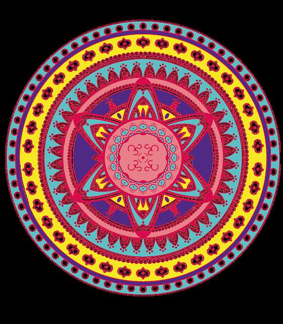 Free Illustration Mandala Mandala Drawing Free Image