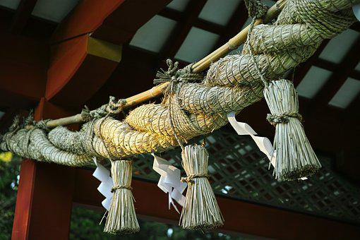 しめ縄, 神社, 神聖, 日本, しめ縄, 神社, 神社, 神社, 神社, 神社