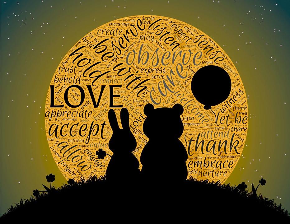 Love, Companionship, Friendship, Partnership