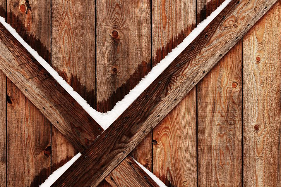 Barn Wood Winter Free Photo On Pixabay