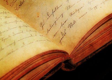 纹理, 手写输入, Sütterlin, 年份, 古董, 字体, 文具