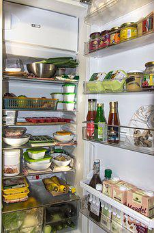 Refrigerator Icebox Food Cold Kitchen Vege