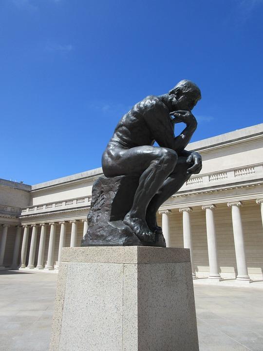 Denker, Het Standbeeld, Piekeren, Gedachte