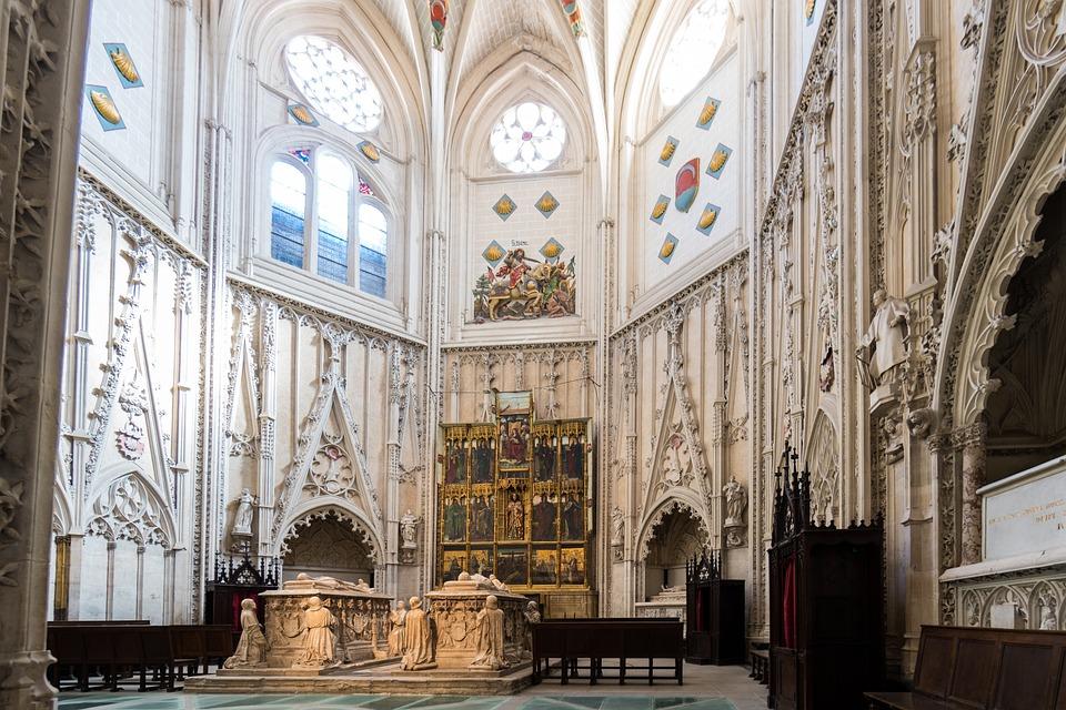 Iglesia, Toledo, España, De Viaje, Catedral, Religiosos