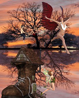 Elfe, Fée, Magie, Nature, Imagination