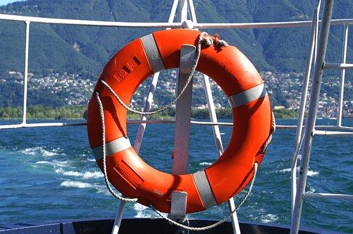 Rettungsring Kreis Seefahrt Sicherheit Sch