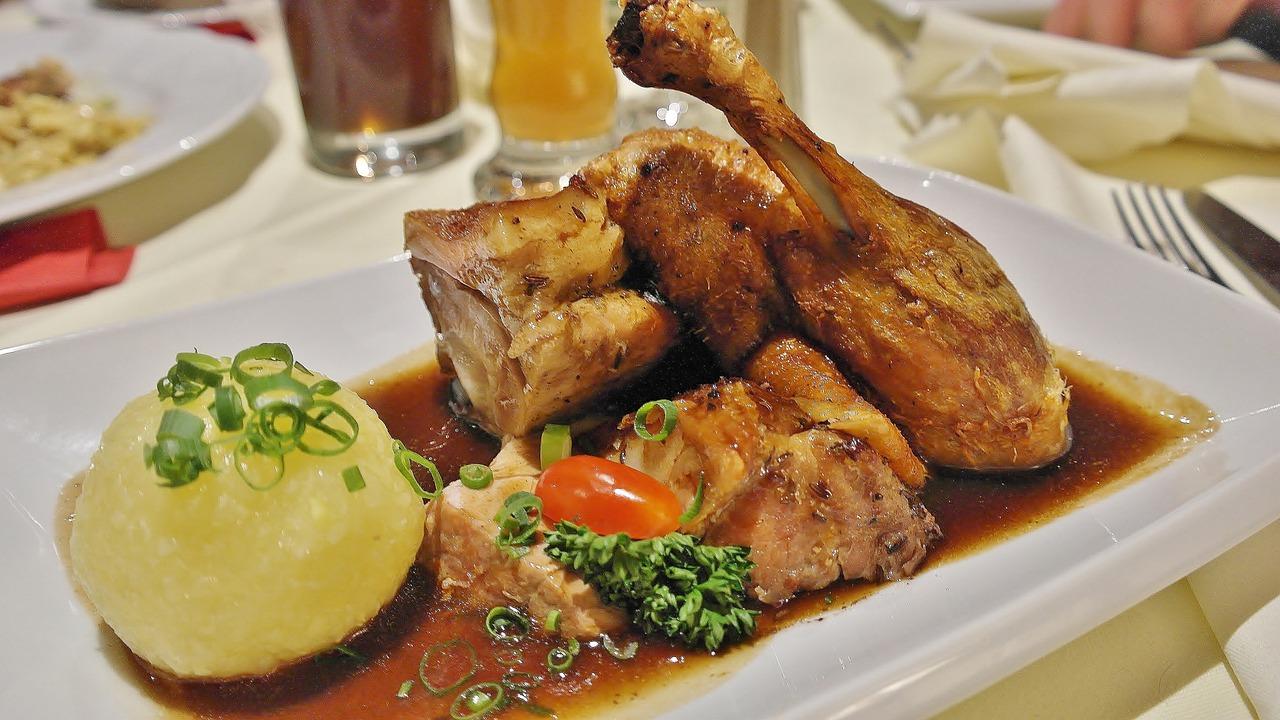 Горячие блюда из утки рецепты