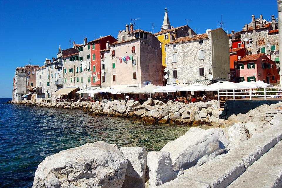 Town, City, Old, View, Picturesque, The Coast, Sea