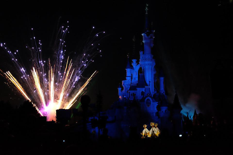 Disneyland Paris, Fireworks, Show