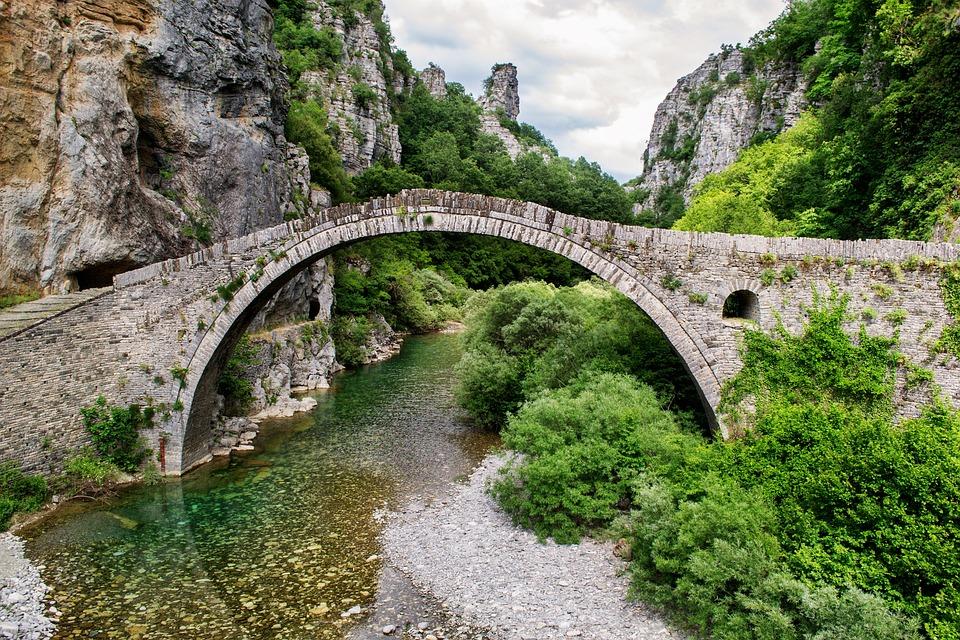 Free photo: Beautiful Landscape, Bridge, Greece - Free ...
