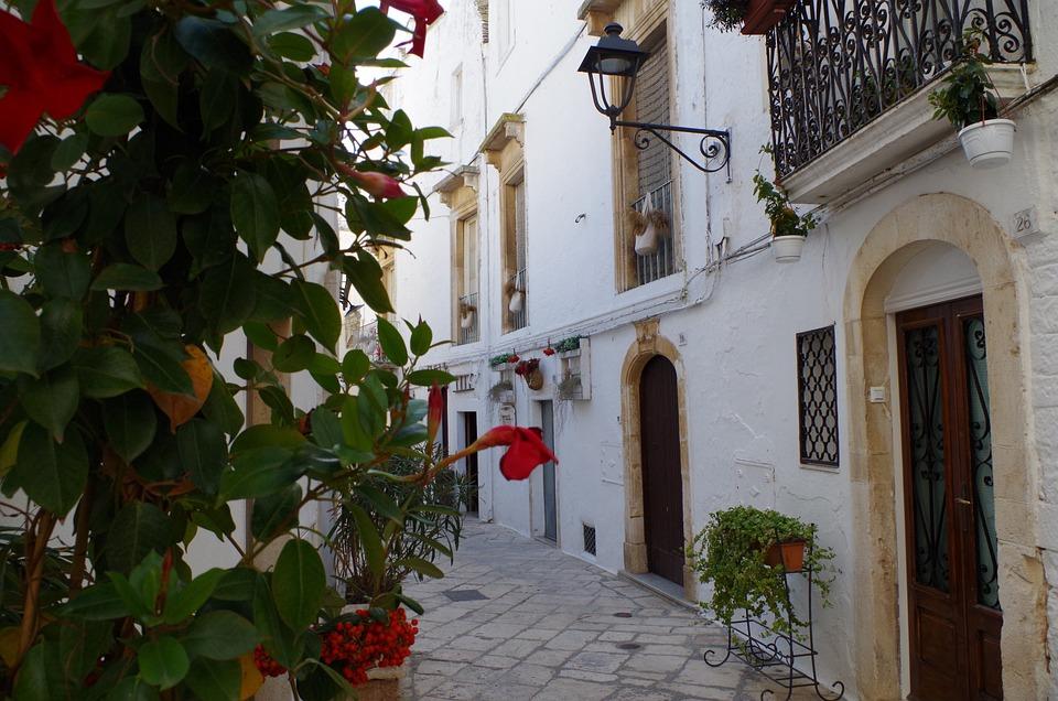 Locorotondo, Puglia, Italia, Apulia, Centro Storico