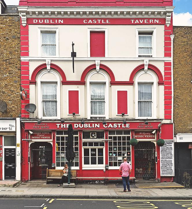 Pub, Old, Camden, London, Famous, Dublin, Castle, Drink