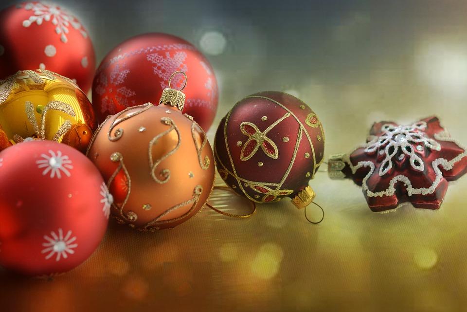 Weihnachtskugeln Rot Gold.Weihnachten Rot Gold Kostenloses Foto Auf Pixabay