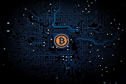 bitcoin illusztráció