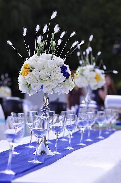 Hochzeit Tabelle Blumen · Kostenloses Foto auf Pixabay