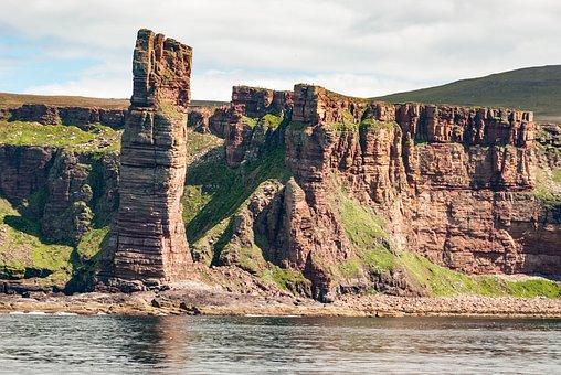 Orkney Island, Stromness, Coastline
