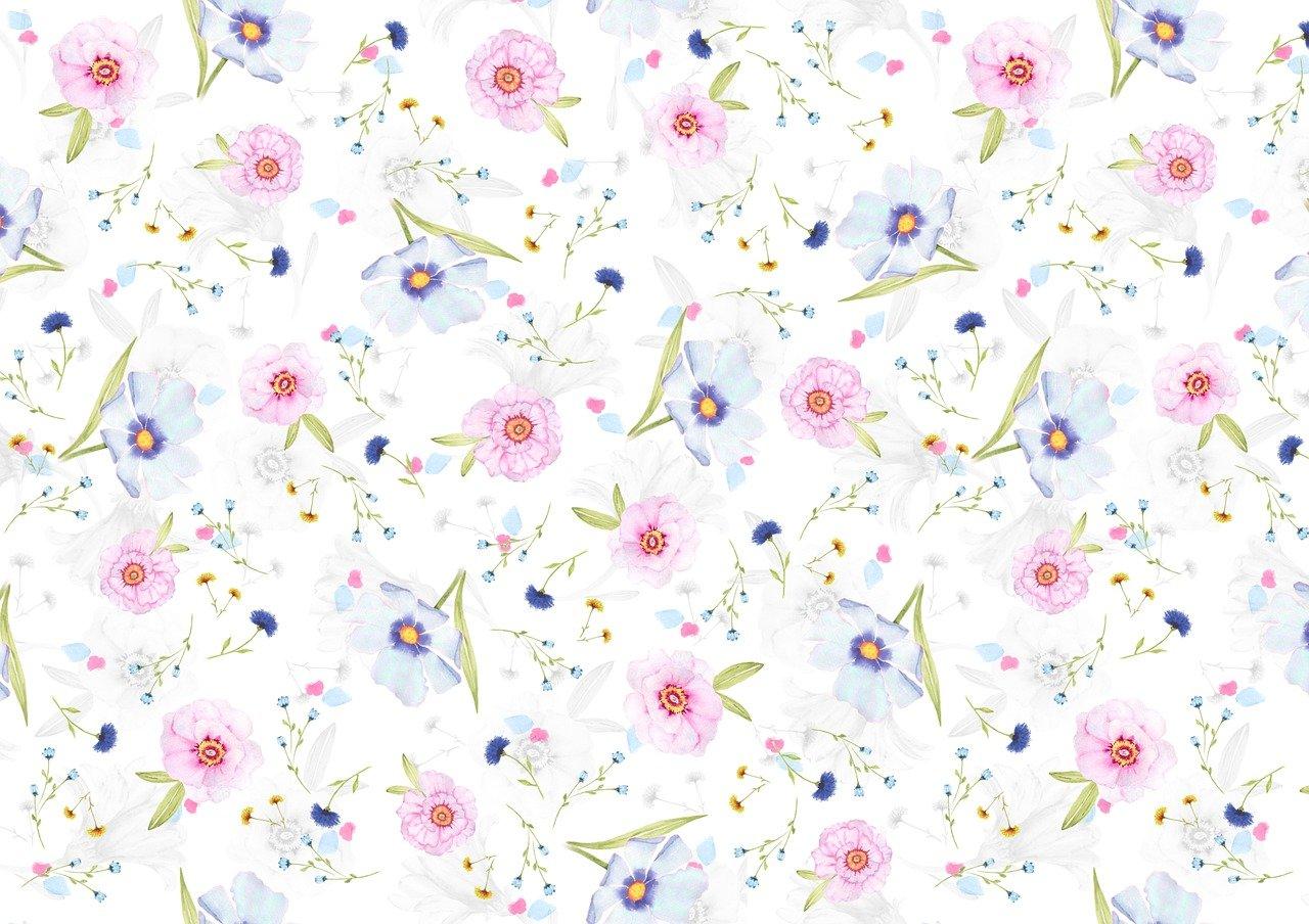 Floral Pattern Background Digital Free Image On Pixabay