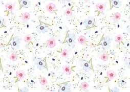 Floral, Pattern, Background