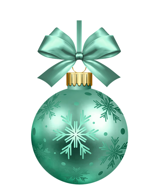 Shepherd Gold On Blue Silhouette Ornament: Free Illustration: Bauble, Bauble Christmas Tree