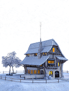 Christmas, Winter, Snow, Snowflakes