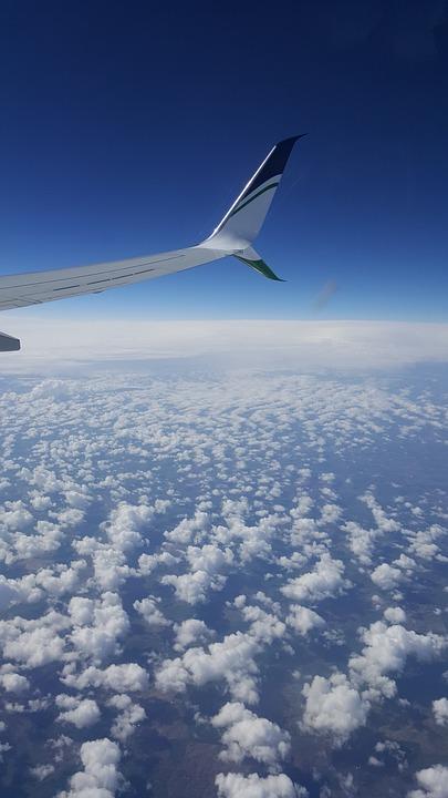 Flugzeug Wolken Blick Kostenloses Foto Auf Pixabay