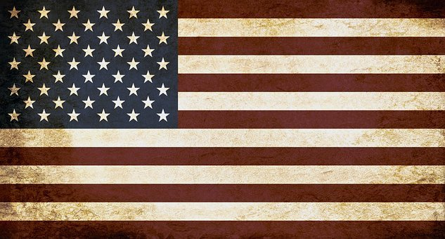 United States Of America Usa Flag Politica