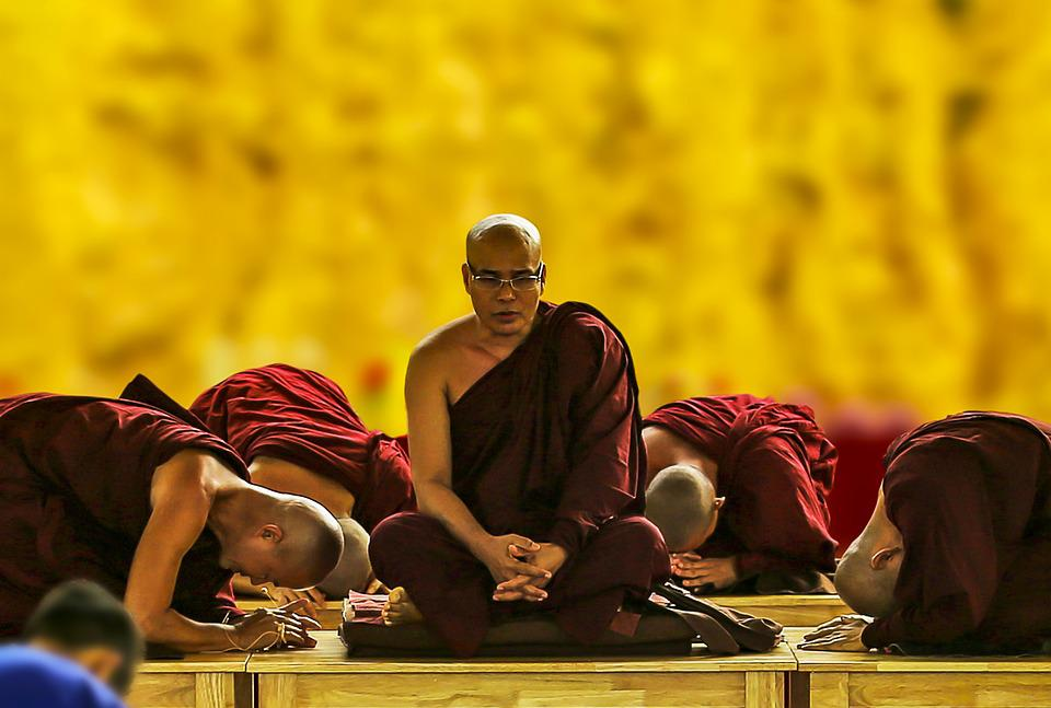 Theravada Buddhism, Pay Homage, Bow Down, Respect