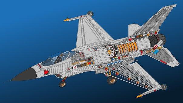 F-16, Military, Aircraft, Aviation