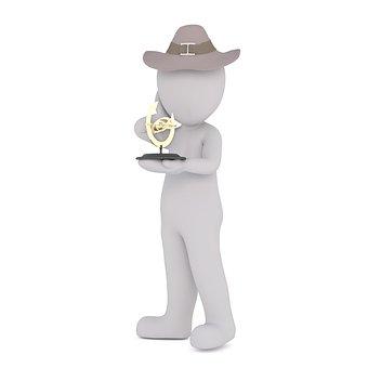 Hat, Man, Mr, Human, Game Figure, Stone