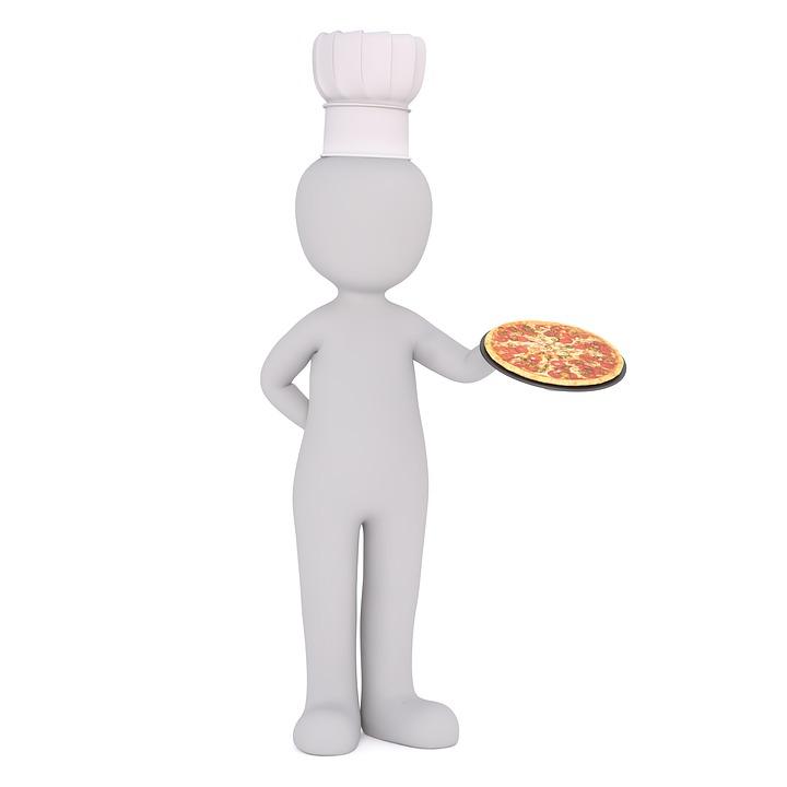 Pizza, Chefkoch, Kochen, Küchenchef, Garen, Gewürze